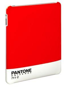 Pantone (Red 711) iPad Case