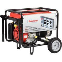 Honeywell 6036- 5500-Watt Gas Powered Portable Generator, 49/CSA