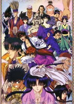 Rurouni Kenshin - Samurai X crew
