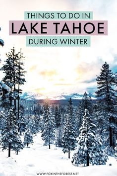 Visiting Lake Tahoe this winter? If you're planning a winter getaway to Lake… Visiting Lake Tahoe this winter? Lake Tahoe Skiing, Lake Tahoe Winter, Lake Tahoe Vacation, South Lake Tahoe, Best Winter Destinations, Vacation Destinations, Romantic Weekend Getaways, Winter Getaways, Winter Travel