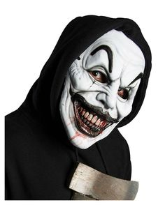 Maske Halloween, Halloween Kostüm, Clown Maske, Prosthetic Makeup, Joker, Mickey Mouse, Special Effects, Masks, Fictional Characters