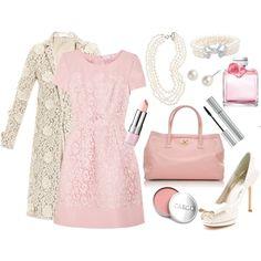 """Girly!! <3 ~~Lace & Pink~~"""" by jenleding on Polyvore"""