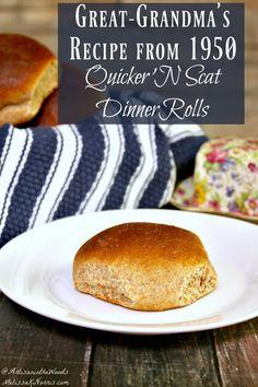 Easy Dinner Roll Rec