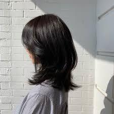 Medium Hair Cuts, Medium Hair Styles, Curly Hair Styles, Korean Medium Hair, Asian Short Hair, Hair Inspo, Hair Inspiration, Haircuts Straight Hair, Shot Hair Styles