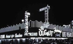 """The exterior corner of the Las Vegas Club at Fremont Street and Second Street in downtown Las Vegas, circa 1960s-1970s. Image is part of UNLV Libraries """"Photo"""" digital collection."""