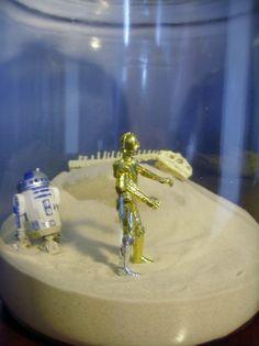 Star Wars Tatooine Terrarium