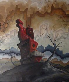 Twisted, Dark and Fun...Asheville, NC has a tremendous talent in Brian Mashburn