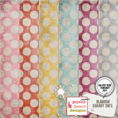 Bloomin' - Dots :: Papers :: Memory Scraps