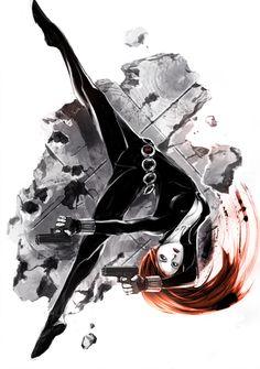 Black Widow by naratani on DeviantArt