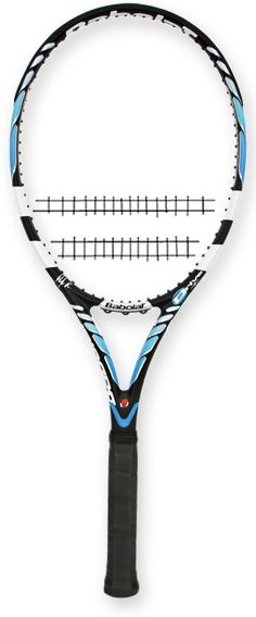 New Babolat Tennis Racket---for all those aces I hit.  lol Mine has sweet blue stings and white grip though :) FINALLY upgraded!!!