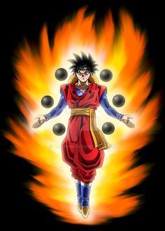 Goku x lufyy x naruto fusion