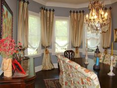 Elegant Window Treatment Ideas Traditional