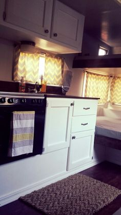 Our 1976 Terry trailer remodel. ~teri