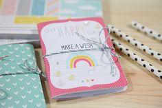 Unify Handmade: How to Make Mini Journal, Part 2, Video