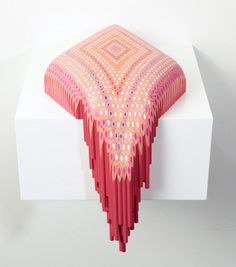 Lionel Bawden / Coloured pencil sculptures