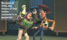 buzz lightyear quote universe in jeopardy