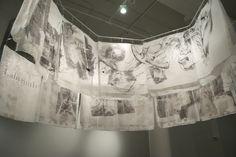 Jenna Cornell - Labyrinth Contemporary mixed media fine art.