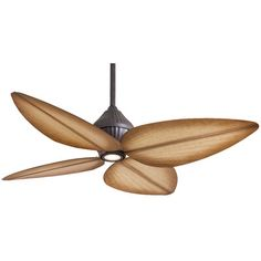 """52"""" Gauguin Tropical 4 Blade Outdoor LED Ceiling Fan"""