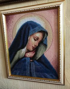 I Need Marriage Advice Key: 2737610885 Religious Cross Stitch Patterns, Funny Marriage Advice, Cross Stitch Finishing, Byzantine Icons, Cross Stitch Pictures, S Pic, Virgin Mary, Embroidery Stitches, Cross Stitches