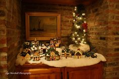 Christmas Village enjoying the christmas holidays