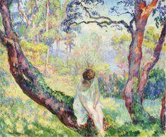 Woman in a Landscape, Henri Lebasque