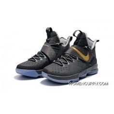 "543405a5136 ""Ring Night"" Nike LeBron 14 PE Grey Cement Discount"