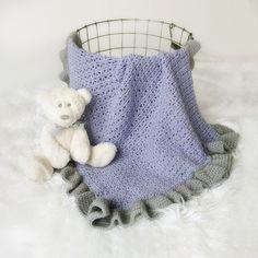 PATTERN Crochet Baby Blanket Pattern Victoria by LeeleeKnits