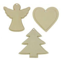 Molde 3 para Enfeites de Árvore de Natal.