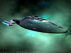 Star Trek Voyager Ship