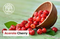 "A ""cherry on top"" is always a good thing — that famous saying means something great is now even better.   That's certainly the case if you're talking about an acerola cherry.  Find out why this supplement has become so popular. Cough Remedies, Food Science, Growing Tree, Brain Health, Nutritional Supplements, Health And Wellbeing, Natural Health, Benefit, Cherry"