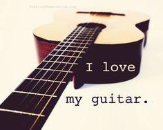 Guitar Love Quote Photograph via Etsy