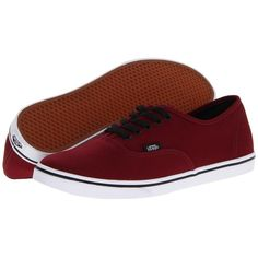Vans Authentic Lo Pro Skate Shoes ($45) ❤ liked on Polyvore featuring shoes, sneakers, vans, sneakers & athletic shoes, evening shoes, vans footwear, waffle shoes, vans sneakers and holiday shoes