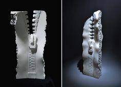 Der türkische Bildhauer Serdar Kaynak hat Dualität als eines seiner Themen