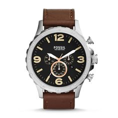 Buy Fossil JR1475 Brown Round Chronograph Watch by E TRADERS RETAIL, on Paytm, Price: Rs.9495?utm_medium=pintrest