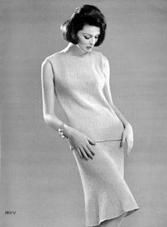 Bear Brand& Fleisher Yarn1961 - Knit Fashions Book#63