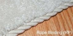 possible DIY? Bind a carpet remnant?