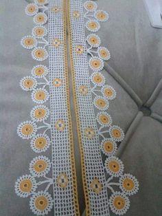 çeyizlik havlu kenarı örnekleri (26) « Kadinlarin sesi,kadın,yemek,örgü,elişi,bebek örgü modelleri Crochet Borders, Crochet Squares, Love Crochet, Diy And Crafts, Handmade, Dish Towels, Crochet Edgings, Perfect Love, Crochet Motif