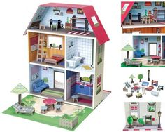 krooom murielle city house and over other quality toys at fat brain toys upper class and stylish this dollhouse invites kids in for play casa kids good