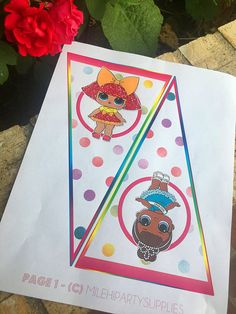 NEW LOL Surprise Doll Happy Birthday Party Banner  Bunting