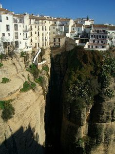 Ronda, Spain by Trent Strohm, via Flickr