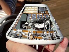 Vincent Meens 132 Apollo CSM model collectSPACE Messages is part of Space nasa - Apollo Spacecraft, Soyuz Spacecraft, Nasa Spacex, Apollo 11, Plastic Model Kits, Plastic Models, Apollo Space Program, Spaceship Interior, Nasa Photos