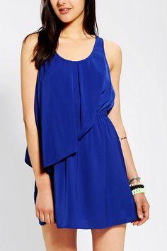 Silence & Noise Kayla Double-Layer Dress