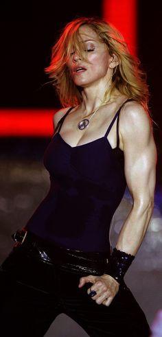 Madonna..those arms!!