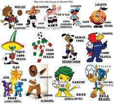 Antigüidades & Marcas ™: FiFA World Cup's Mascotes