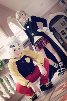 Chikami(芷紙) Maka Albarn Cosplay and Soul cosplay Photo - WorldCosplay