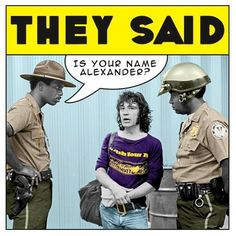 Alex Harvey meets US police. Alex Harvey, Concert Posters, Rock And Roll, Musicals, Police, Funny Stuff, Nostalgia, Relax, Memories