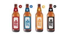 Iron City Beer by Cody Petersen, via Behance