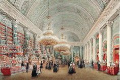 Painting of a Charity Ball in the Yusupov Palace.
