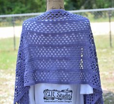 Dixie Charm Wrap - ELK Studio - Handcrafted Crochet Designs