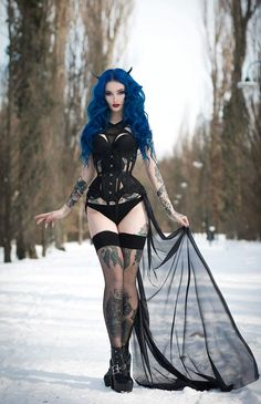 A page were you can see that goth can still mean beautiful . A place to be Goth and proud. Goth Beauty, Dark Beauty, Style Emo, Hot Goth Girls, Estilo Rock, Gothic Models, Goth Women, Gothic Steampunk, Steampunk Fashion
